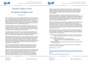 PositionPaperontheEuropeanrefugeecrisis-AEGEE-Aachene.V.-1